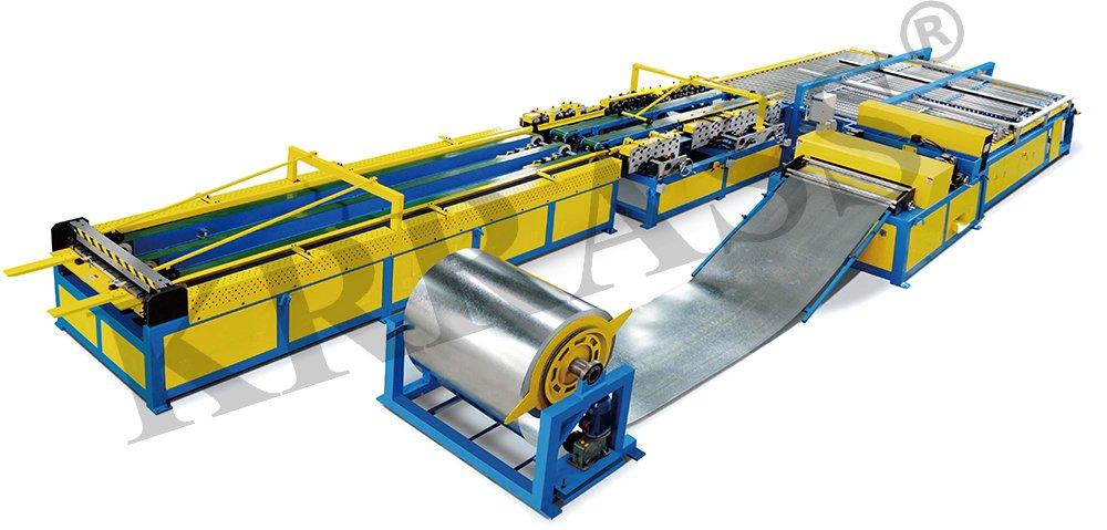 U Shape Duct Manufacturing Auto Line V