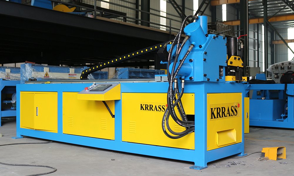 CNC Angle Steel Flange Production Line
