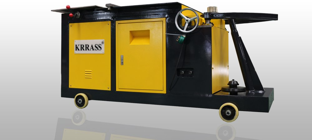 Duct Elbow maker round duct elbow making machine spiral duct forming machine from KRRASS