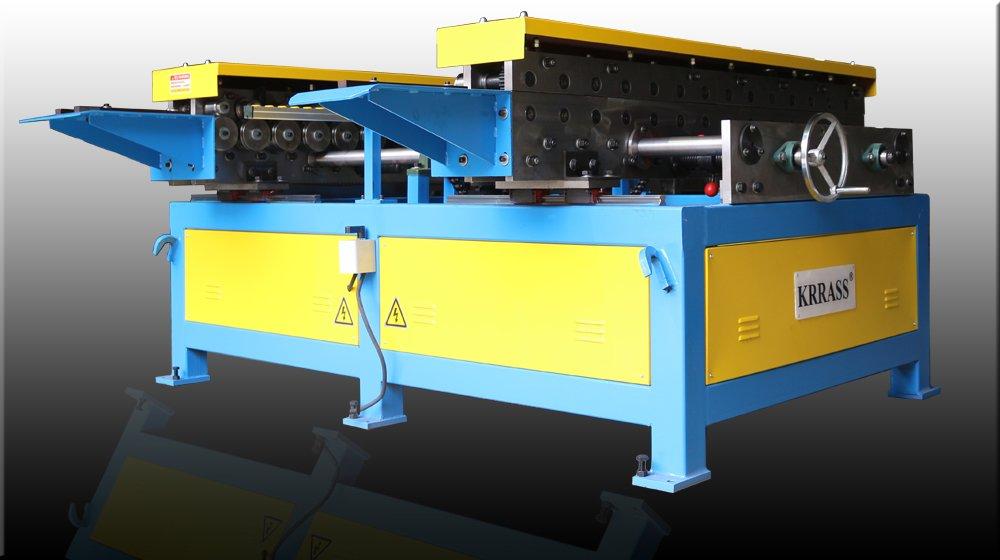 Duplex TDF Flange Forming Machine from KRRASS