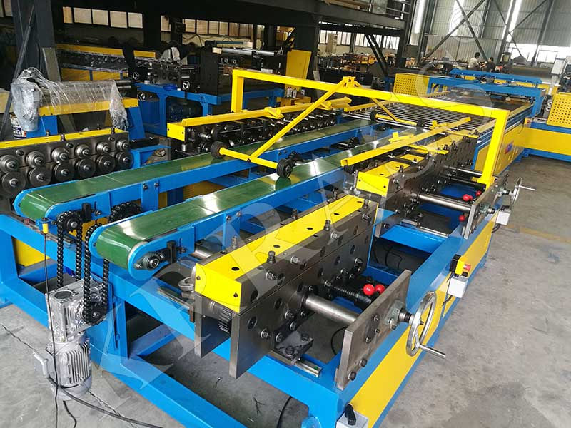 KRRASS duct production line
